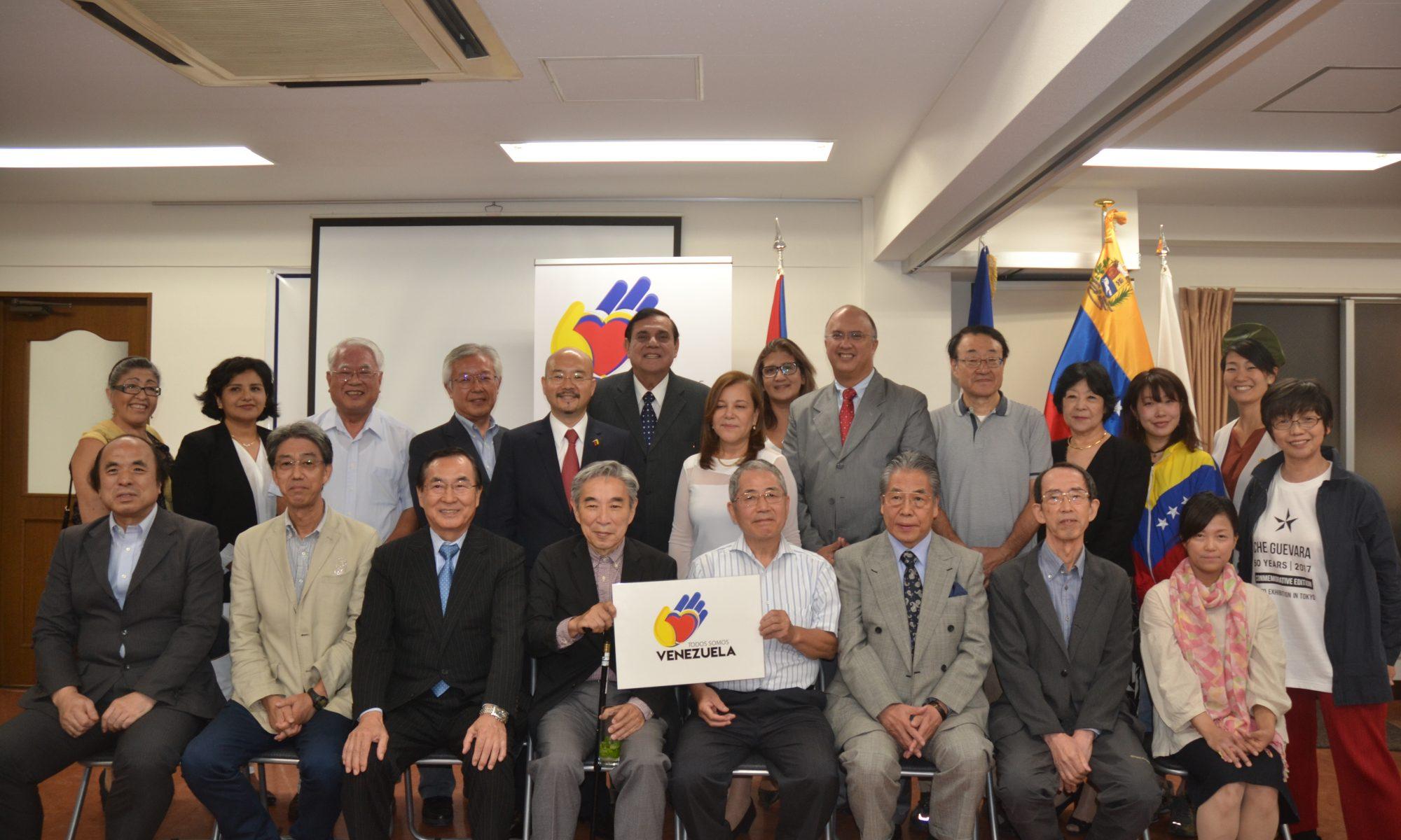 Solidaridad Venezuela Japón